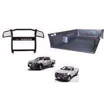 Kit Nissan Np300 Bedliner Cubierta Batea Pick Up Burrera