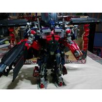 Optimus Prime Y Jett Fire Leader Class Revenge Of The Fallen