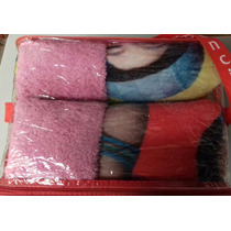 31f376286da3 Cobertor Soy Luna Individual Borrega Y Almohada Providencia en venta ...