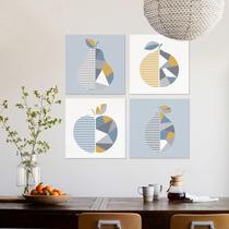 Cuadros Decorativos Frutas Minimalistas Para Comedor Canvas ...