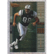 2000 Ultimate Victory Rookie Anthony Becht Te Jets