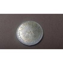 Peso Porfiriano De Culiacan Cn 1903 Fv Fecha Clave Muy Rara+