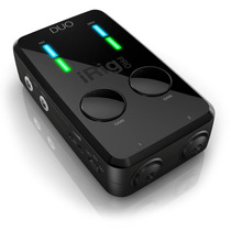 Irig Pro Duo Interface Audio Usb Iphone Ipad Android 24 Bits