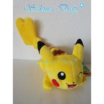 Pikachu Para Hombro 20 Cm Takara Tomy Original - Japones
