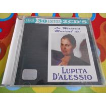 Lupita Dalessio Cd La Historia Musical 30 Exitos, 2 Cds,