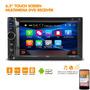 Autoestereo 2din Touch 6.2  Bluetooth  Sd Usb Camara Reversa