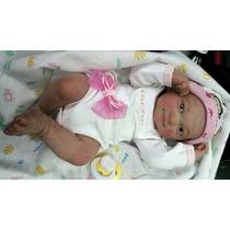 Hermoso Bebe Reborn 34 Cms Pintado A Mano ...con Cabello