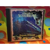 Edward Scissorhands Cd Soundtrack, 90, Usa Importado