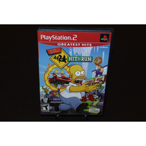 The Simpsons Hit & Run Para Playstation 2. Completo.