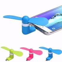 Ventilador Micro Usb Para Smartphone Galaxy Android Nuevos!