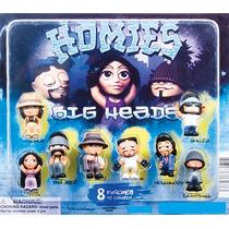 Capsula De 2 Pulgadas C/50 Homies Big Heads Chiclera Vending