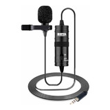 Micrófono Boya By-m1 Omnidireccional Negro