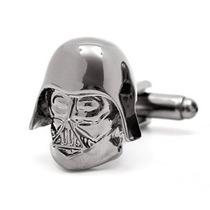 Mancuernillas Darth Vader Star Wars Camisa Traje Acero