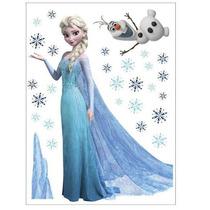 Vinil Decorativo De Elsa De Frozen P/ Habitación Infantil