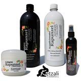 Shampoo, Acondicionador, Rizos Y Colágeno Rapunzel Zatarain.