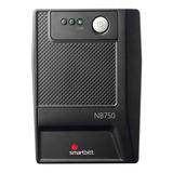 No Break Regulador Y Sup De Picos Smartbitt 6 Cont 750va