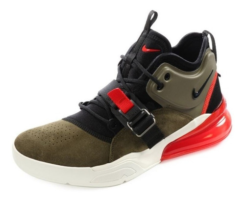 Tenis Nike Air Max Force 270 Fusion Medium Olive Hybrid Orig