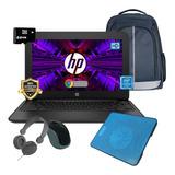 Laptop Hp Chromebook 11 Intel Celeron Ssd 32gb 4gb + Kit