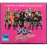 90's Pop Tour 2cd+dvd Ov7 Fey Jns Jeans Calo Litzy