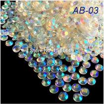 3000 Piedras De Decoracion Ropa Acrilico Cristal Pedreria