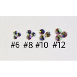 Cristal Swarovsky  1440 Piedras 4 Tamaños. Decoración Uñas.