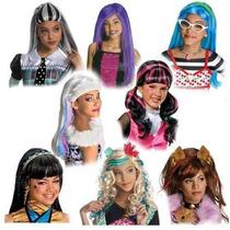 Pelucas Monster High Skelita, Abby, Spectra, Rochelle, Etc