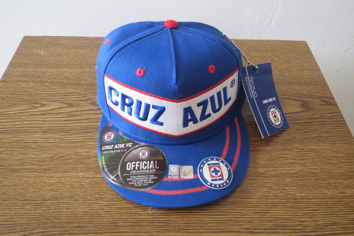 1069bf3b6eb9b Gorra Original Tapa Plana - Cruz Azul Algodón