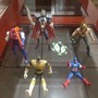 Lote 5 Figuras Spawn, Marvel, Dc, Power Ranger Negro