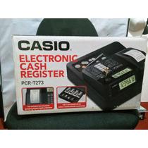 Caja Registradora Casio Pcr T273 Termica Ventas Negocio
