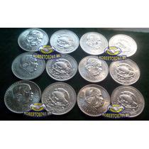 Moneda De Plata 1 Peso Morelos Cacheton 1947 - 1948