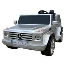Carrito Juguete Electrica Mercedes Benz Silver 12v Niños Pm0