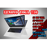Laptop Lenovo Yoga I5 De 7ma  8gb 256gb Ssd Touch Tablet