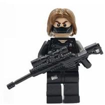 Minifigura Para Armar Soldado Del Invierno Winter Soldier