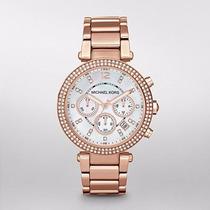Reloj Michael Kors Rose Gold-tone Glitz Parker Mk5491