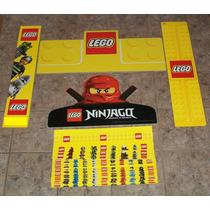 Lote Publicidad Lego Banners Cenefas Minifiguras Ningago