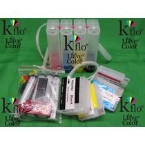 Sistema Tinta Continua Para Hp 932 933 Hp 7110 7610 Con Chip