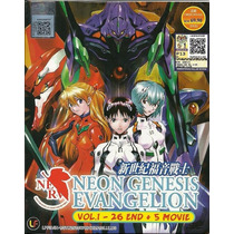 Neon Genesis Evangelion - Boxset Serie Completa Envio Gratis