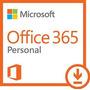 Microsoft Office 365 Personal 1 A�o | Pc O Mac Descargar