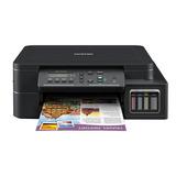 Impresora A Color Multifunción Brother Dcp-t5 Series Dcp-t510w Con Wifi 100v - 120v Negra
