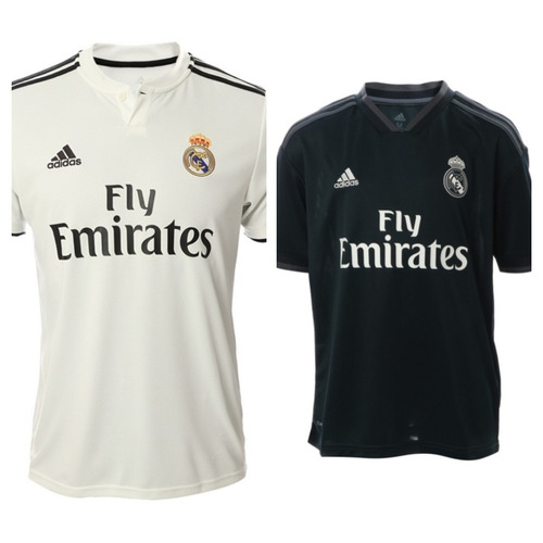 Jersey Playera De Futbol Real Madrid Visita 2018 03bcf2eb28a97