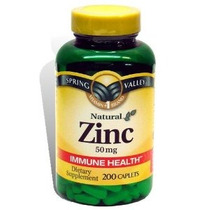 Spring Valley - Zinc 50 Mg 200 Ct