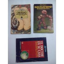 Lote De 3 Libros Cura Natural De Diferentes Enfermedades