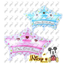 Globo De Coronita De 63x 43cm Para Baby Shower Decoracion