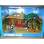 Playmobil 5907 Oambati Station Rangers House Para Decorar