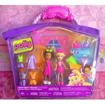Polly Pocket Set De Munecas Y Accesorios