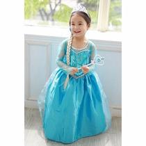 Vestidos Anna Elsa Frozen Niñas Princesas Disney Disfraz