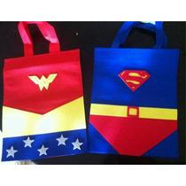 Dulceros De Superman Y La Mujer Maravilla
