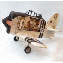 Avión De Colección Y Portaretrato