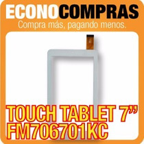 Touch Tablet China 7 Universal Fm706701kc Blanca 100% Nueva!
