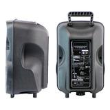 Bocina Stylos Tech Baffle 8  Portátil Inalámbrico Negro 110v